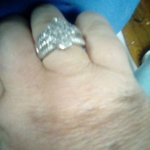 Sterling silver 925 ring size 8 to 9
